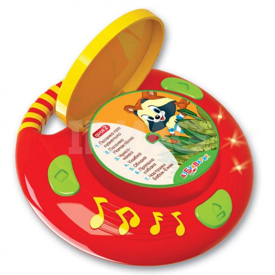 CD-плеер для малышей Азбукварик с 4 дисками Песенки из ...